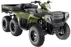 6 wheel all-terrain vehicle