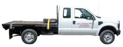 Camionnette plateforme