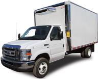 Camion cube 14' E450 réfrigéré
