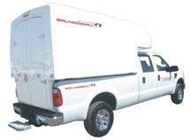 Camionnette cabine surélevée
